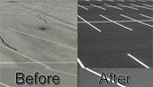 Striping: Before & After